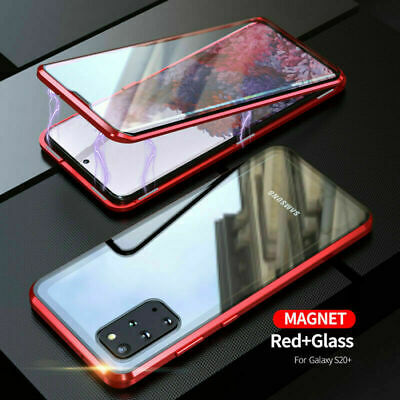 AU20.99 • Buy 360° Magnetic Double Sided Glass Case For Samsung Note 10 + Plus S10e S9 S8 Plus