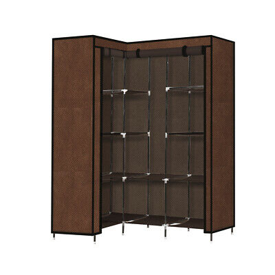 AU49.99 • Buy Levede Portable Wardrobe Clothes Closet Storage Cabinet Organizer With Shelves