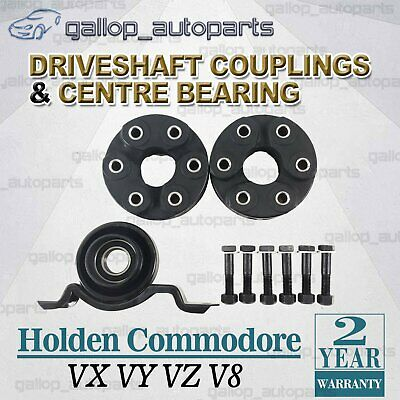 AU107.95 • Buy Tailshaft Couplings + Centre Bearing Commodore VX VY VZ V8 2000~2006 Sedan Coupe