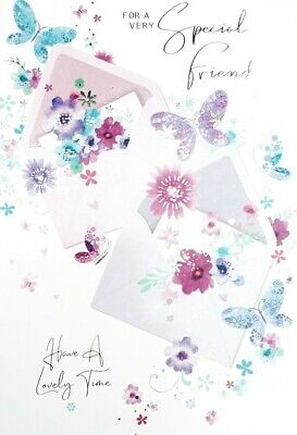 £1.99 • Buy Special Friend Female Womens Birthday Card For Her