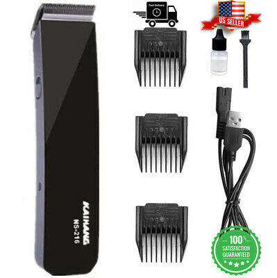 $10.99 • Buy Rechargeable Electric Men Haircut Clipper Shaver Trimmer Razor Hair Grooming Kit