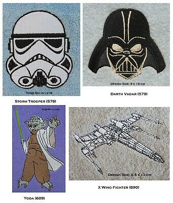 Yoda, Storm Trooper Or Darth Vader - Embroidered & Personalised Mink Throw • 22.50£