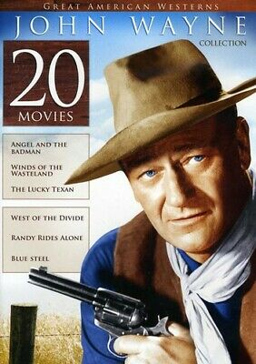 $9.99 • Buy Great American Westerns: John Wayne Collection - 20 Movies - DVD Brand New