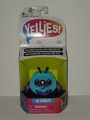 $12.95 • Buy Yellies Bo Dangles Voice Activated Spider Pet Purple Pink Teal New