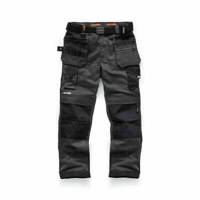 Scruffs Pro Flex Trousers With Holster Pockets Graphite Grey (Various Sizes) • 49.50£