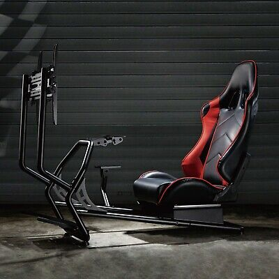 FOREST G3 Gaming Chair, Racing Cockpit Simulator With TV Mount & Shift Mount Inc • 425£