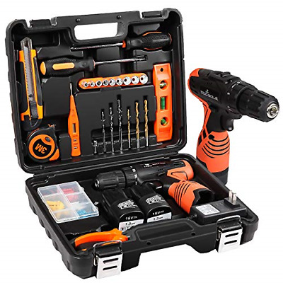 $63.74 • Buy Power Tools Combo Kit With 16.8V Cordless Drill For 48 Accessories Home Cordless