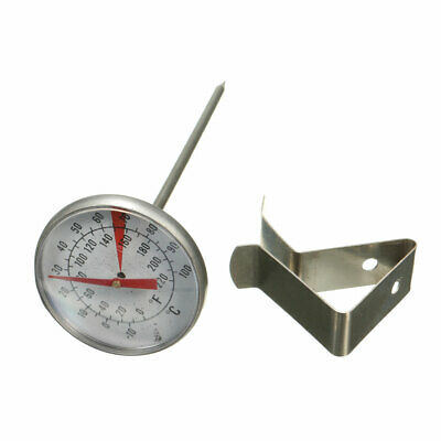 Metal Clip On Food Thermometer Dial Gauge 10-100°C Candle, Soap & Jam Making • 6.55£