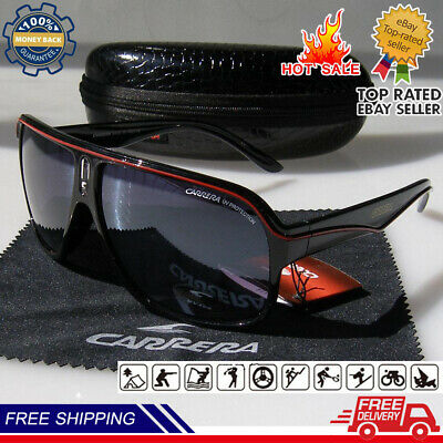 AU19.79 • Buy Fashion Men & Women's Retro Sunglasses Unisex Matte Frame Carrera Glasses+BOX