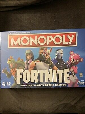 $10 • Buy MONOPOLY Fortnite Edition Board Game Brand New