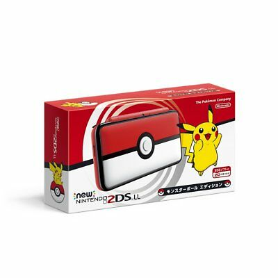 AU323.83 • Buy Nintendo 2DS LL XL Pokemon Monster Ball Edition Japan