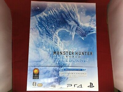 AU220.34 • Buy PS4 Monster Hunter World IceBorne Master Edition Collector's Package