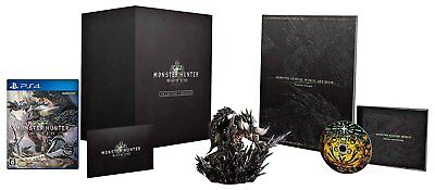 AU275.14 • Buy PS4 Monster Hunter World Collector's Edition DLC PlayStation 4 JAPAN IMPORT