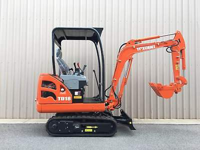 AU26990 • Buy TRIDENT 1.8T Excavator With 3 Buckets For Sale