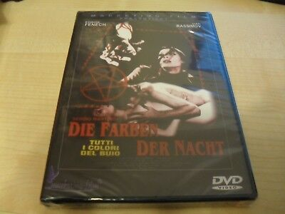 Giallo - All The Colors Of The Dark - Sergio Martino - RARe German DVD E. Fenech • 15£