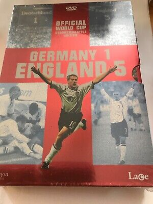 £2.99 • Buy Germany 1 England 5 Official World Cup Commemorative Edition DVD * New Sealed *