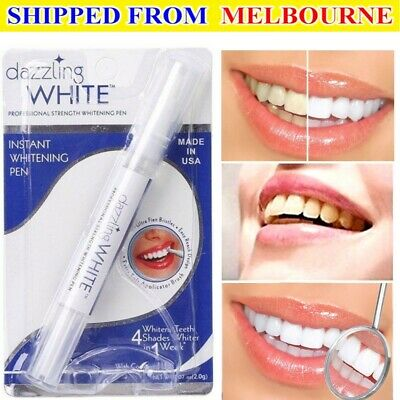 AU5.90 • Buy NEW Teeth Whitening Kit Cleaning System Oral Dental Pen Gel White Tooth Smile