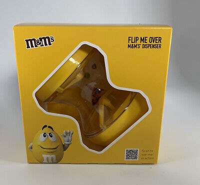 £6.10 • Buy M&M's Flip Me Over Dispensers Yellow Chocolate Sweet Easter Gift Shaker MM
