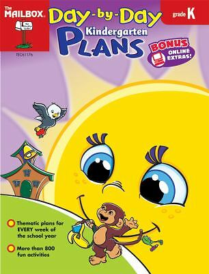 $4 • Buy Day-by -Day Kindergarten Plans By The Mailbox Books Staff (2009, Book, Other)