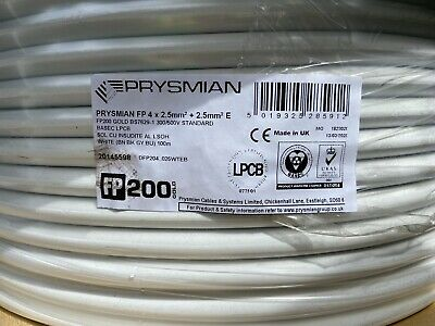 FP 200 White Gold 4 X 2.5 Mm + E , 100meters , I Have 5 , £125 Each. • 88£