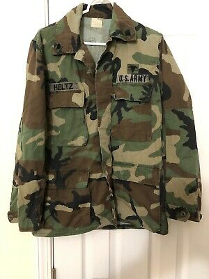 $ CDN33.25 • Buy M-81 Camouflage Top Collectors Item First Woodland Camo 1981 White Tag Cammo BDU