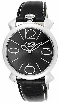 GaGà Milano Watch Thin 46MM Black 5090.03.BK • 789£