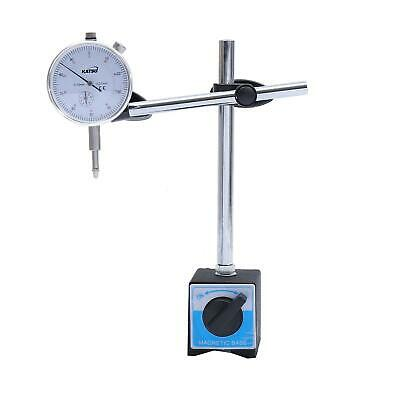 40111963 Dial Indicator Magnetic Base And Dial Test Indicators 0-10mm • 14.99£