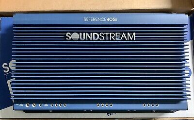 $ CDN669.74 • Buy Old School Soundstream Reference 405s 5 Channel Amplifier,Rare,USA,SQ
