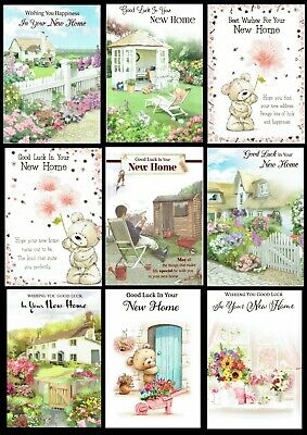 NEW HOME ~ MOVING HOUSE ~ QUALITY CARD Choice Of Design ~ House Warming • 0.99£