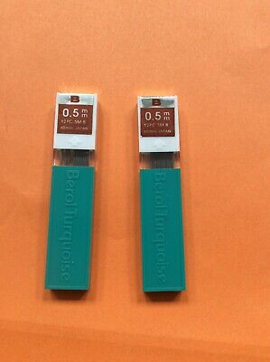 £1.20 • Buy Fineline Leads 0.5 B Berol Turquoise 2 Tubes Of 12 Leads. New Old Stock.