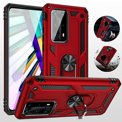 Shockproof Magnetic Ring Holder Cover Case For Huawei P30 P40 Mate20 30 Pro Lite • 3.99£