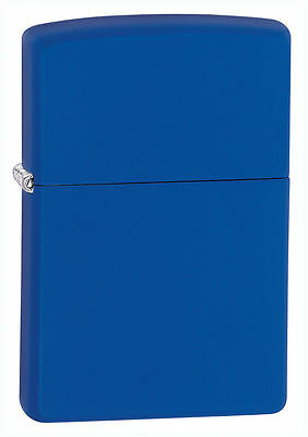 $11.75 • Buy Zippo 229, Classic Royal Blue Matte Finish Lighter, **6 Extra Flints & Wick**
