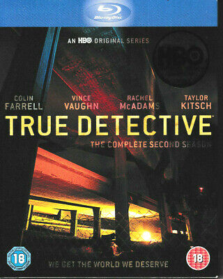 £6.75 • Buy True Detective - The Complete Second Season - Blu Ray - Brand New & Sealed