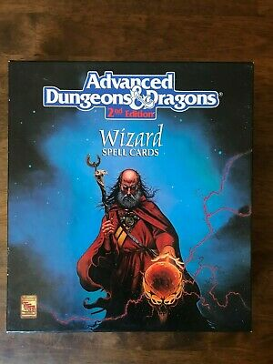 AU101.96 • Buy Advanced Dungeons & Dragons - Wizard Spell Cards