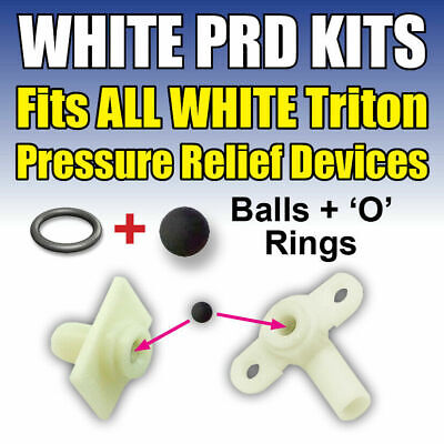 Shower Pressure Relief Device 82800450 Triton Showers Parts Only White Valves • 6.49£