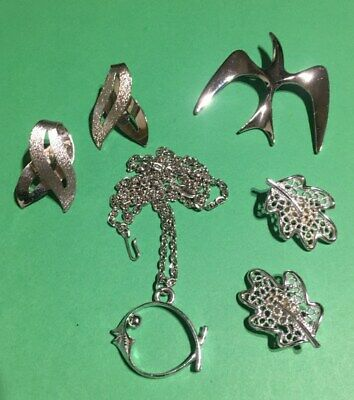 $ CDN16.34 • Buy Vintage Jewelry Lot - All Signed Sarah Coventry