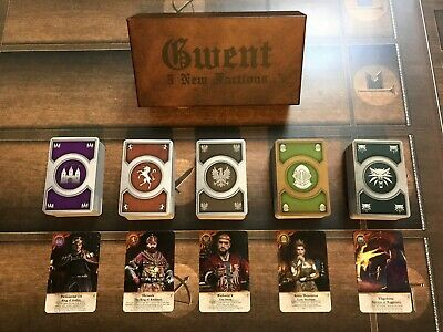 $ CDN120.94 • Buy GWENT CARDS (5 *NEW* Factions) Witcher 3 FULL SET With BOX!