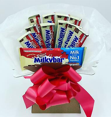 Milky Bar Nestle Chocolate Bouquet Explosion Hamper Any Occasion Perfect Gift • 12.99£