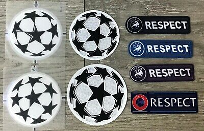 £7.07 • Buy UCL UEFA Champions League Respect + Star Ball Patch Badge Parche Flicken