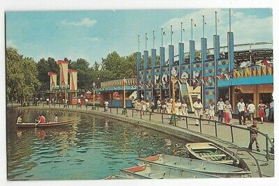 $4.50 • Buy Kennywood Park-racer Twin Wooden Roller Coaster,boats,lagoon-pittsburgh,pa