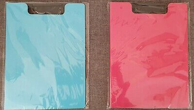 Solid Plastic A4 Clipboard With Foldable Cover.Office,Home,School. • 5.50£