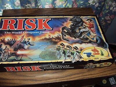 $25.20 • Buy Parker Brothers1993 Risk The World Conquest Board Game AGES 10 UP 2 TO 6 PLAYERS