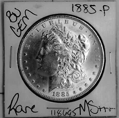 $20.50 • Buy 1885 GEM Morgan Silver Dollar #118695 BU MS+++ UNC Coin Free Shipping