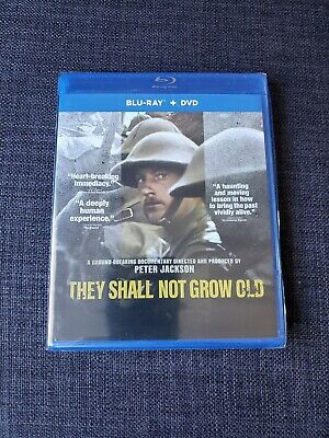 $24.99 • Buy They Shall Not Grow Old - Bluray + Dvd (BRAND NEW)