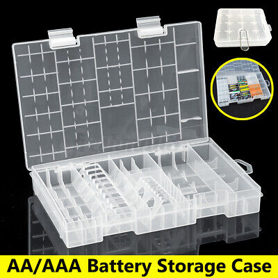 AU8.05 • Buy Portable AA AAA / 18650 Battery Storage Case Holder Box Container