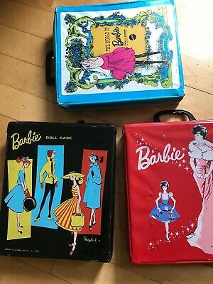 $ CDN40.46 • Buy # 3 Vintage Ponytail Barbie  Doll Cases