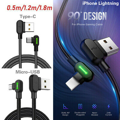 AU12.99 • Buy Fast Charging Cable Smart Mobile Phone Charger Titan Power LED USB Data Cord