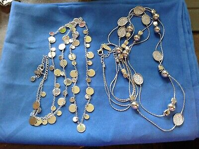 $ CDN12.53 • Buy Lot Of 2 Necklaces, 1 2strand NY, 1 Lia Sophia