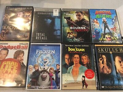 $ CDN1.76 • Buy Lot Of Eight Great DVDs - Frozen, Dodgeball, Total Recall And More!