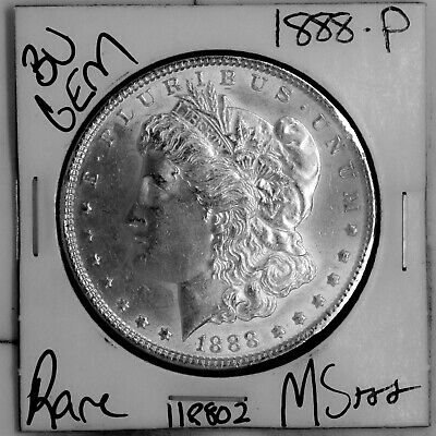 $25.02 • Buy 1888 GEM Morgan Silver Dollar #118802 BU MS+++ UNC Coin Free Shipping